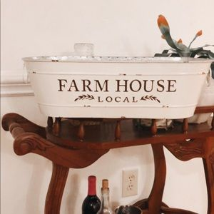 Farm house planter